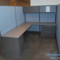 550 Cubicles Liquidated