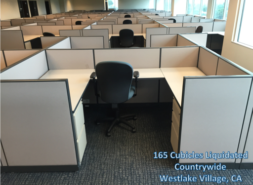 155 Cubicles Liquidated